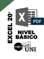 Manual de Excel Básico 2013