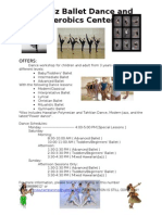 Ozamiz Ballet Dance and Aerobics Center
