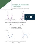 29 - Estudo Do Sinal de Uma Função Do 2º Grau