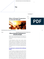 Effect of Elevated Temperature on Concrete Strength _ Civil Engineering Forum