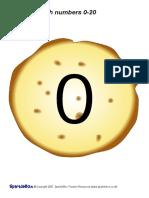 Numbers Pancake