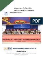 PGPBM Brochure 2017-19