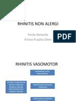 Rhinitis Non Alergi