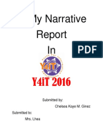 Y4it Narrative Report