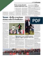 La Provincia Di Cremona 11-02-2018 - Le Interviste