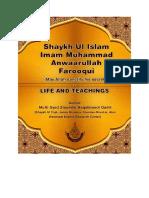 Hayat - Shaik'ul-Islam Imam Anwar'ullah Farooqui (Qadsrah Aziz) [English]