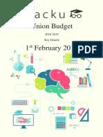 Budget - Cracku