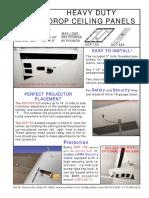 Drop Ceiling Panel Datasheet