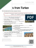 Tourism Vocabulary Quiz