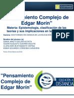 Pensamiento Complejo_Edgar Morin