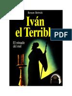 Bobrick Benson - Ivan El Terrible