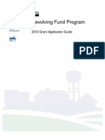 Application Guide-Revolving Fund 2010