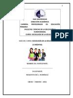 Sociologia de La Educacion-guia Del Est.