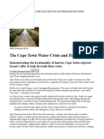 Cape Town, Water , Watercrisis