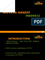 59609100 Managenent Strategies of Ufone