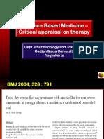 Evidence Based Medicine - Critical Appraisal 2.