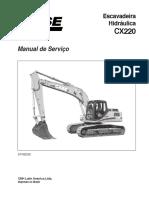 Manual de Serviço CX220