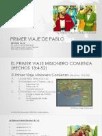Primer Viaje de Pablo-carlos Cojal Aguilar