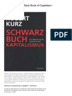 Robert Kurz - Interview on the Black Book of Capitalism (Libcom)