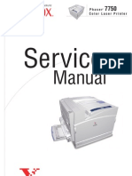 Phaser 7750 Service Manual