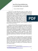 C P Ortlieb -  La Gauche Keynesienne Et Son Cocktail de Souhaits (2012)