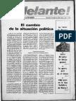 Adelante!, Año 1, No. 1 (14 de Abril de 1976)