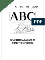 El ABC de Mi Alma Del 16 Al 20 Agosto