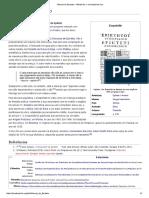 Manual de Epicteto – Wikipédia, A Enciclopédia Livre