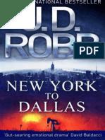 D Robb Nora Roberts J - New York to Dallas (no oficial).epub