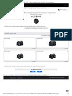 ALC-F55S _ Câmara Fotográfica Digital Informações de Compatibilidade