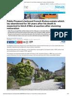 Pablo Picasso's French Riviera Estate
