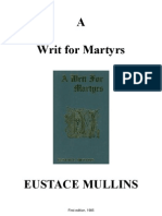Eustace Mullins - A Writ for Martyrs (Preview)