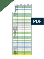 Monitoring Sheet 2018