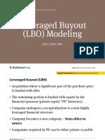Lbo Course Notes Sample