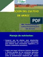 Charla Nutrición Arroz 2018 2