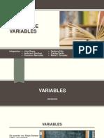 Sistema de Variables