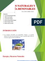 6. Recursos Naturales y Energía Renovables