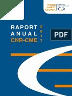 Raport Anual CNR CME 2017