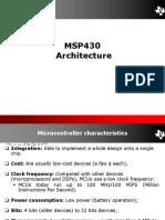ES04 MSP430 Architecture