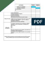 Objetivos, Categorías y Cronograma de Trabajo Violencia Conyugal