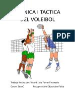 Tecnica i Tactica Del Voleibol