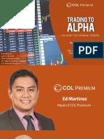 COL Premium - Trading to Alpha - 2017 04 22