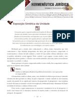 Hermeneutica Juridica - Unidade 2
