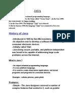 01 Java Introduction