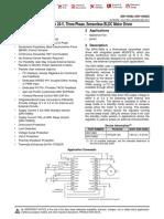 TI Drv10983 3Ph BLDC Sensorless Driver