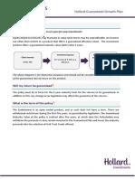 Hollard Guaranteed Growth Key Features July2014