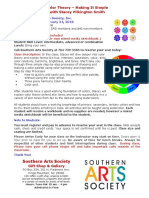 Stacey Pilkington Smith Color Theory Class Flyer