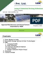 VSM Solar Company Presentation Oct 2017