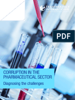 Corruption in the Pharmaceutical Sector-Transarency International 2016