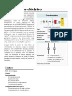 Condensador Eléctrico - Wikipedia, La Enciclopedia Libre